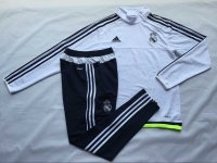 Real Madrid 2015-16 Training Suit With Pants White
