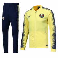 Club America 18/19 Training Jacket Tracksuit Yellow and Pants