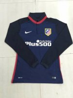Atletico Madrid 2015-16 Away Soccer Jersey LS