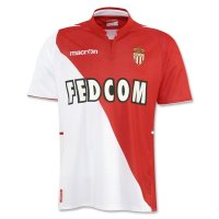 13-14 AS Monaco FC Home Soccer Jersey Kit(Shirt+Shorts)