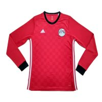 Egypt 2018 World Cup LS Home Soccer Jersey Shirt
