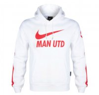Manchester United 14/15 White Core Hoody Top
