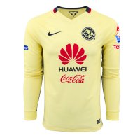 Club America 2015-16 LS Home Soccer Jersey