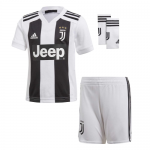 Kids Juventus 18/19 Home Soccer Sets (Shirt+Shorts+Socks)