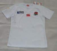 Rugby World Cup 2015 England White Shirt