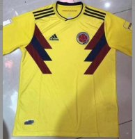 Colombia 2018 World Cup Home Soccer Jersey