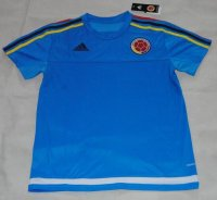 2015-16 Colombia Blue Training Shirt