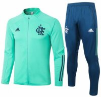 Flamengo 20/21 Tracksuits Green Training Jacket and Pants