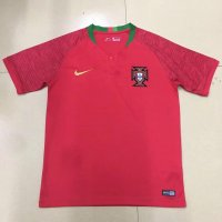 Protugal 2018 World Cup Home Soccer Jersey