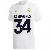 Real Madrid 19/20 T-Shirt White CAMPEONES 34