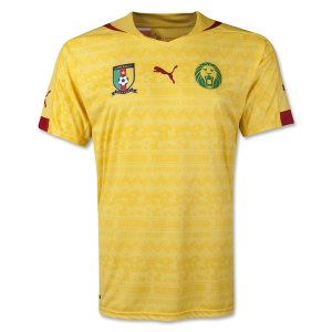2014 World Cup Cameroon Away Soccer Jersey