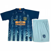 Kids Atletico Madrid 18/19 3rd Soccer Kits (Shirt+Shorts)