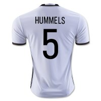 Germany 2016 HUMMELS #5 Home Soccer Jersey