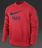PSG 14/15 Red Core LS Crew Sweatshirt
