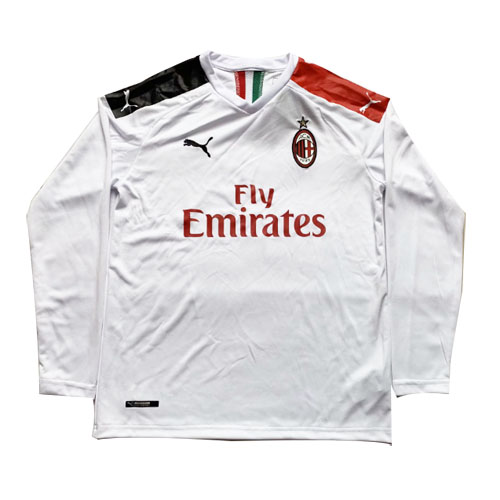 AC Milan 19/20 Away Long Sleeve Soccer Jersey