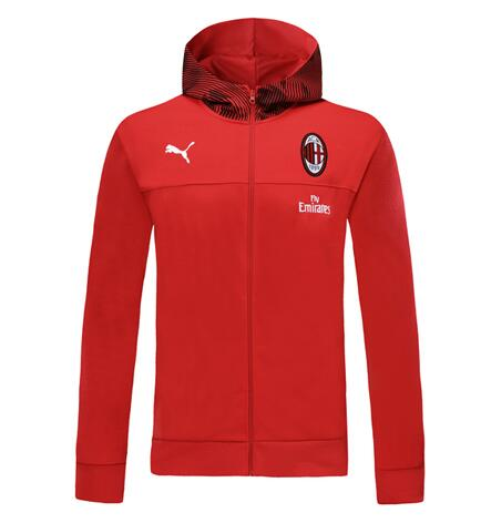 AC Milan 19/20 Hoody Jacket Red