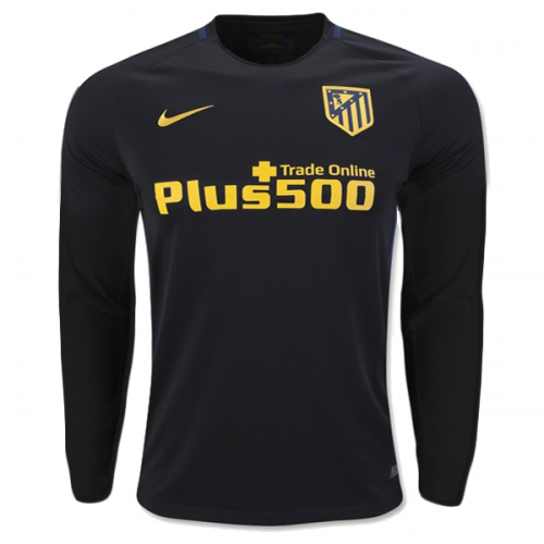 Atletico Madrid 2016/17 LS Away Soccer Jersey