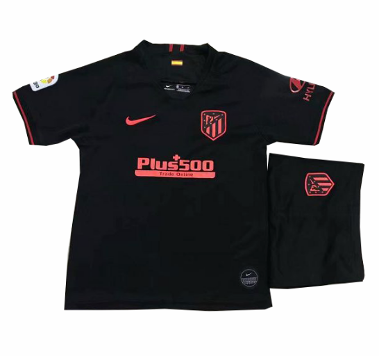 19/20 Kids Atletico Madrid Away Soccer Kits (Shirt+Shorts)