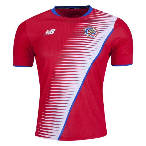 Costa Rica 2017 Home Soccer Jersey