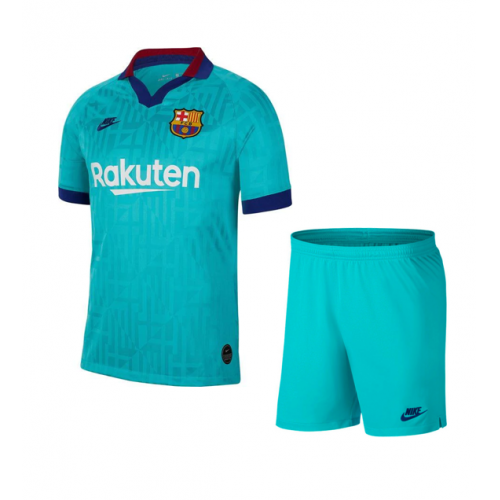 Barcelona 19/20 3rd Away Soccer Kits (Shirt+Shorts)