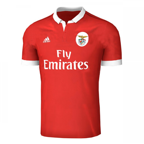 Benfica 2017/18 Home Soccer Jersey