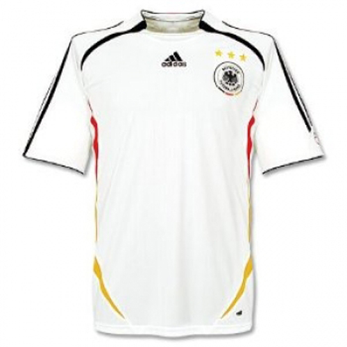 Germany 2006 World Cup Retro Home Soccer Jersey