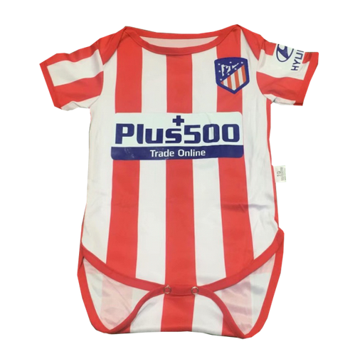 Infant Atletico Madrid 19/20 Home Soccer Jersey Baby Kit