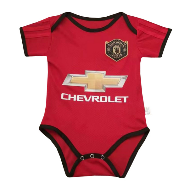 Infant Manchester United 19/20 Home Soccer Jersey Baby Kit