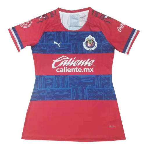 Women Chivas 19/20 Away Soccer Jersey Shirt