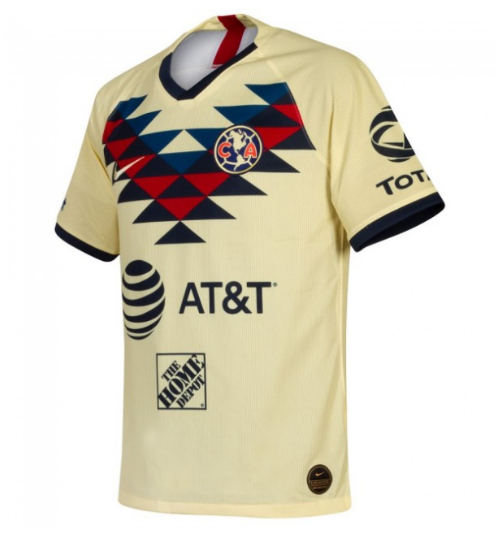 Club America 19/20 Home Soccer Jersey Player Version