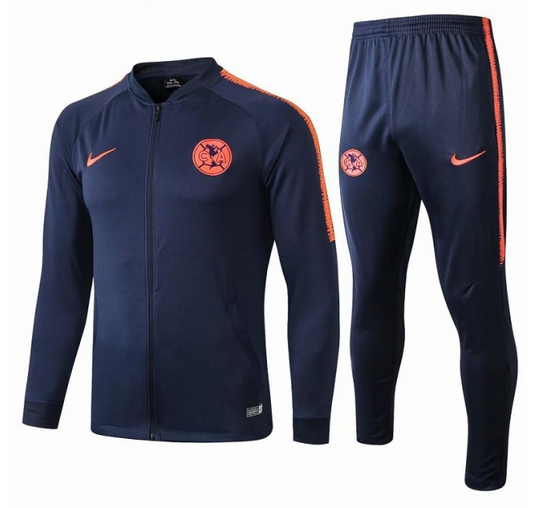 Club America 19/20 Tracksuits Training Jacket and Pants Blue