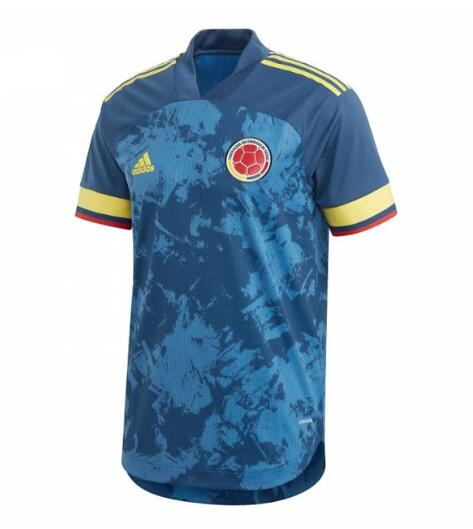 Colombia 2020 Away Soccer Jersey Player Version