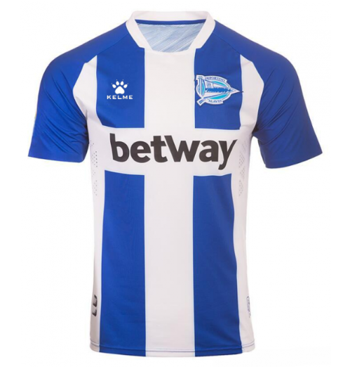Deportivo Alavés 19/20 Home Soccer Jersey