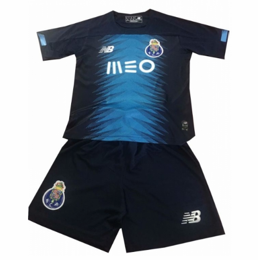 19/20 Kids Porto 3rd Away Soccer Kit (Shirt+Shorts)