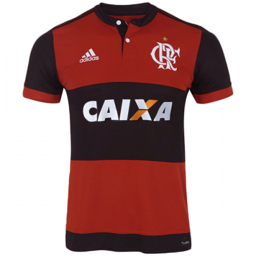Flamengo 2017/18 Home Soccer Jersey