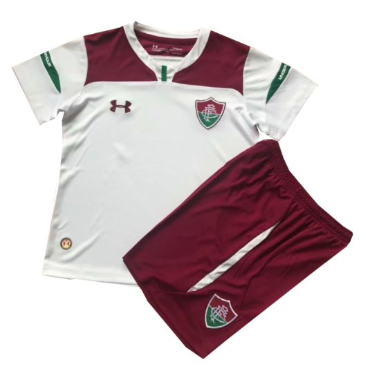 19/20 Kids Fluminense FC Away Soccer Kit (Shirt+Shorts)