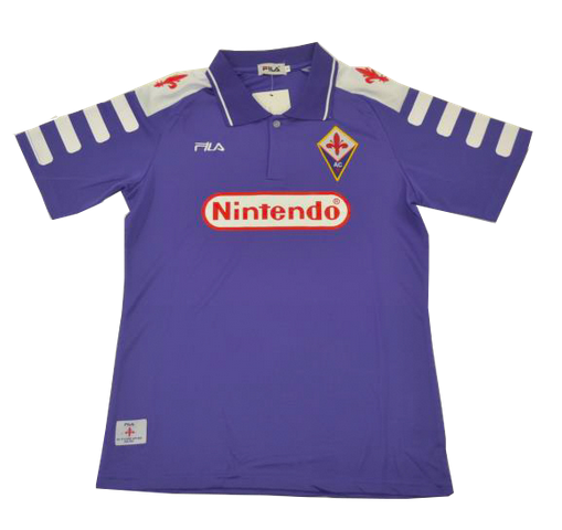 Retro Florence 1998/1999 Home Soccer Jersey
