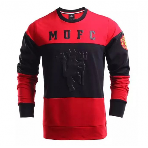 Manchester United 2016/17 Red&Black Sweat Shirt