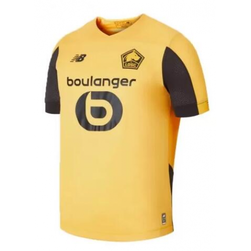 Lille OSC 19/20 Away Soccer Jersey Yellow