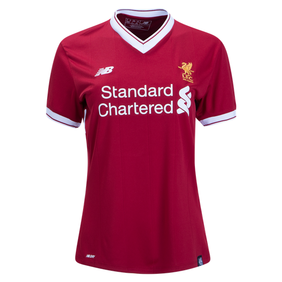 Liverpool 2017/18 Women's Home Red Soccer Jersey