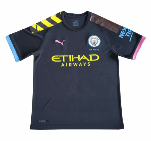 Manchester City 19/20 Away Soccer Jersey Shirt