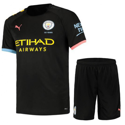 Manchester City 19/20 Away Soccer Kits (Shirt+Shorts)