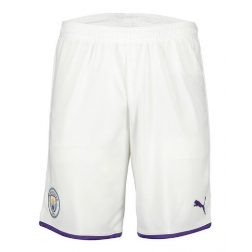 Manchester City 19/20 Home Soccer Jersey Shorts