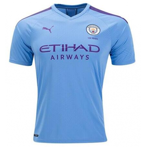 Manchester City 19/20 Away Soccer Jersey Player Version