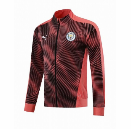 Manchester City 19/20 Training Jacket Pink