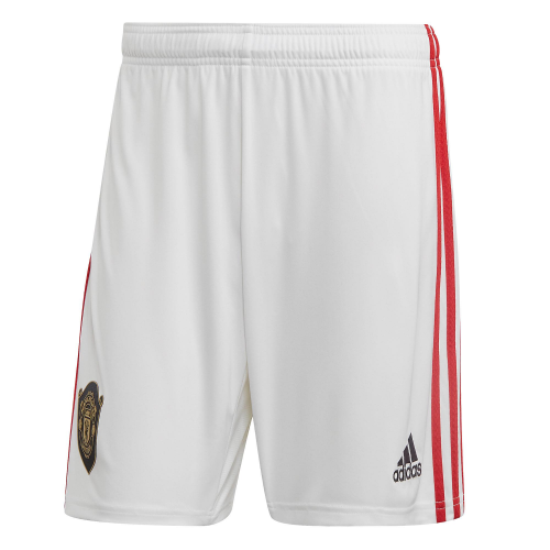 Manchester United 19/20 Home Soccer Jersey Shorts