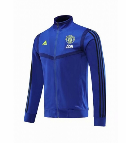 Manchester United 19/20 Training Jacket Blue