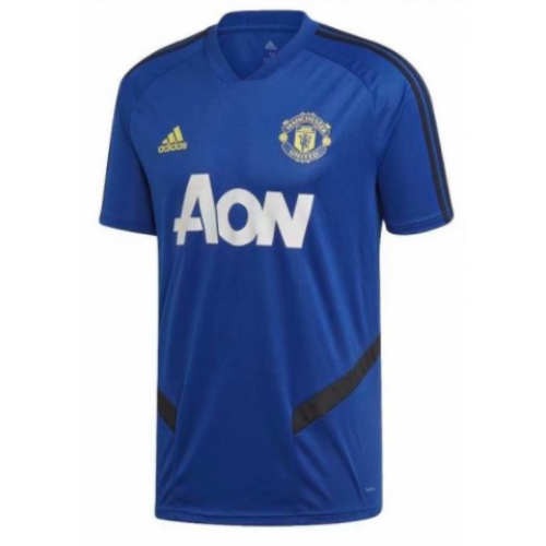 Manchester United 19/20 Training Jersey Shirt Pre-Match Blue