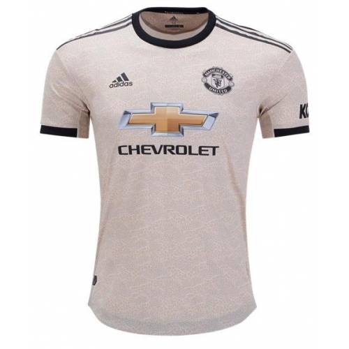 Manchester United 19/20 Away Soccer Jersey Player Version