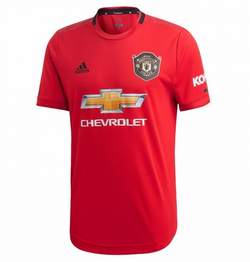 Manchester United 19/20 Home Soccer Jersey Player Version